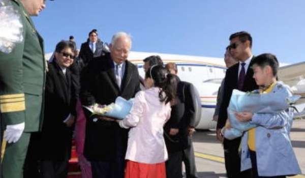 Lawatan Najib dan keluarga atas jemputan China