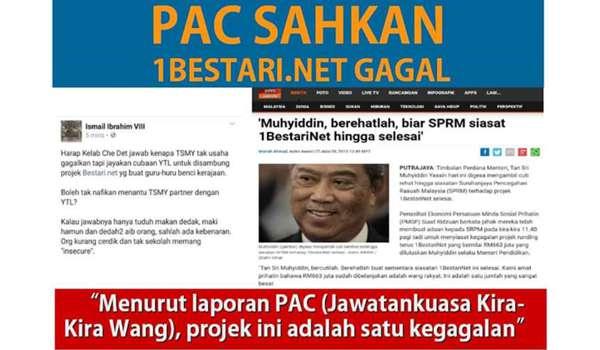 PAC MAHU AUDIT SUSULAN TERHADAP 1BESTARINET