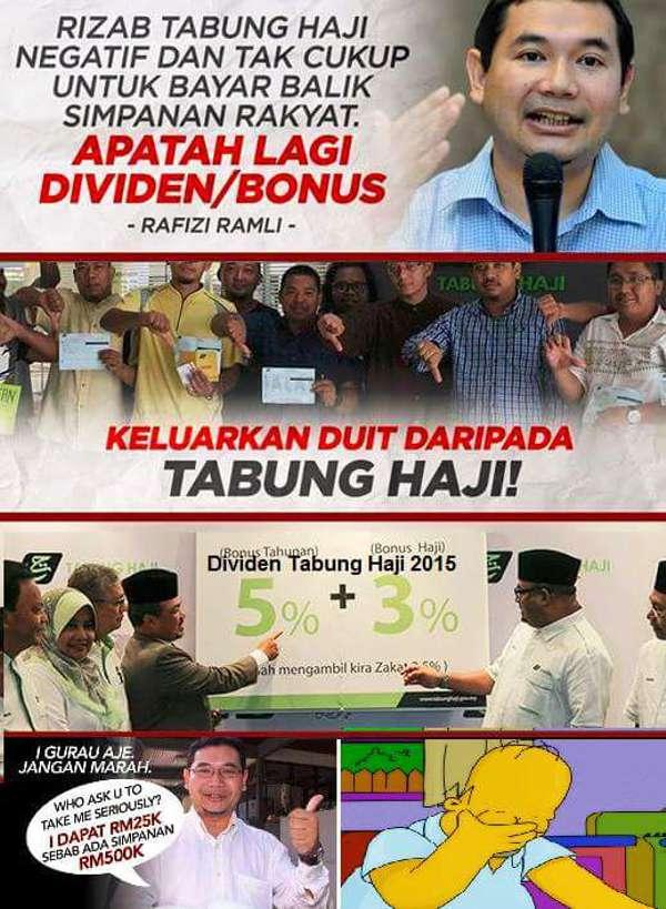 Mahkamah: Lebih 3,000 pendeposit Tabung Haji hilang kelayakan haji akibat artikel Rafizi