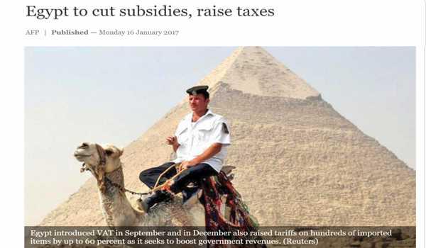 20170202-mesir-kurangkan-subsidi-naikkan-cukai