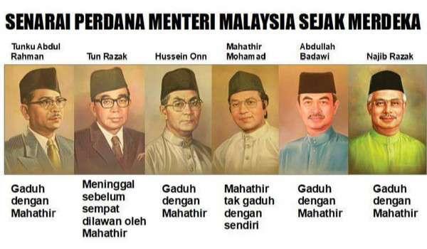 Semua Orang Salah Hanya Mahathir Yang Betul Portal Pakdin My Arkib