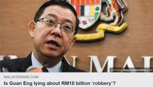 Rompak wang tuntutan GST: Lim Guan Eng Penipu