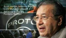 Mahathir lantik cucu sebagai setiausaha politik Perdana Menteri