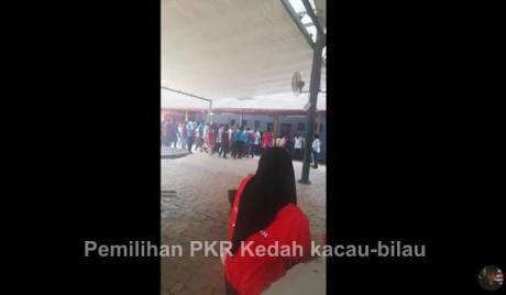 [Video] Pemilihan PKR Kedah kacau-bilau